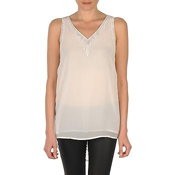 Abbigliamento Donna Top / T-shirt senza maniche Vero Moda PEARL SL LONG TOP Bianco