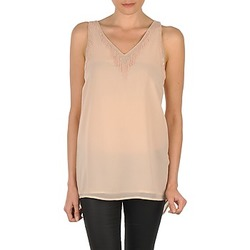 Abbigliamento Donna Top / T-shirt senza maniche Vero Moda PEARL SL LONG TOP Rosa