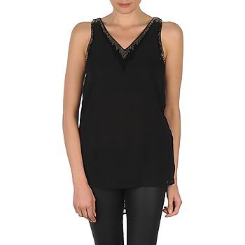Abbigliamento Donna Top / T-shirt senza maniche Vero Moda PEARL SL LONG TOP Nero