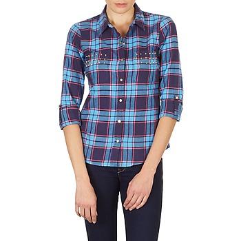 Abbigliamento Donna Camicie Vero Moda MEW LS SHIRT TN WALL Blu