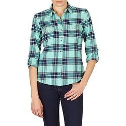 Abbigliamento Donna Camicie Vero Moda MEW LS SHIRT TN WALL Verde