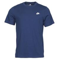 Abbigliamento Uomo T-shirt maniche corte Nike NIKE SPORTSWEAR CLUB Blu / Bianco