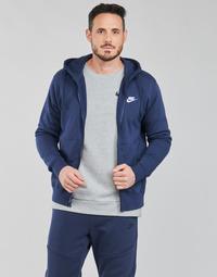 Abbigliamento Uomo Felpe Nike NIKE SPORTSWEAR CLUB FLEECE Blu / Marine / Bianco