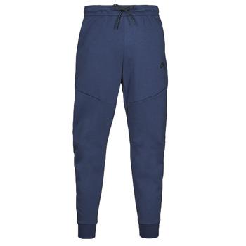 Abbigliamento Uomo Pantaloni da tuta Nike NIKE SPORTSWEAR TECH FLEECE Marine / Nero