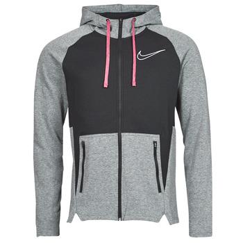 Abbigliamento Uomo Felpe Nike M NK TF HD FZ NVLTY Nero / Bianco