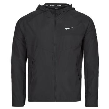 Abbigliamento Uomo giacca a vento Nike M NK RPL MILER JKT Nero / Argento