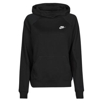 Abbigliamento Donna Felpe Nike NIKE SPORTSWEAR ESSENTIAL Nero / Bianco
