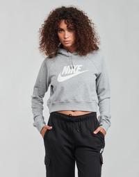 Abbigliamento Donna Felpe Nike NIKE SPORTSWEAR ESSENTIAL Grigio / Bianco