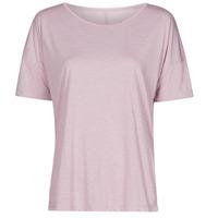 Abbigliamento Donna T-shirt maniche corte Nike NIKE YOGA Viola