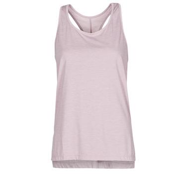 Abbigliamento Donna Top / T-shirt senza maniche Nike NIKE YOGA Viola