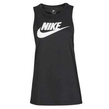 Abbigliamento Donna Top / T-shirt senza maniche Nike NIKE SPORTSWEAR Nero / Bianco