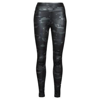 Abbigliamento Donna Leggings Nike W NK ONE DF CAMO MR TGT Grigio / Bianco