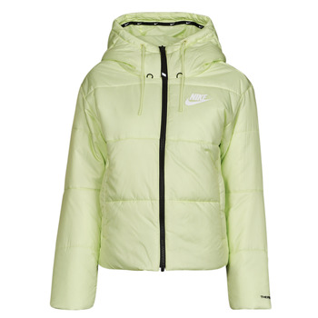 Abbigliamento Donna Piumini Nike W NSW TF RPL CLASSIC TAPE JKT Verde / Nero / Bianco