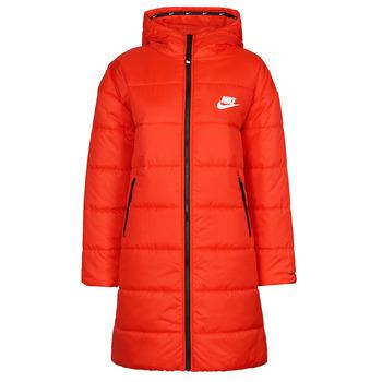 Abbigliamento Donna Piumini Nike W NSW TF RPL CLASSIC HD PARKA Rosso / Nero / Bianco