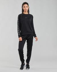 Abbigliamento Donna Pantaloni da tuta Nike W NSW PK TAPE REG PANT Nero