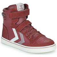 Scarpe Bambina Sneakers alte Hummel SLIMMER STADIL JR Viola