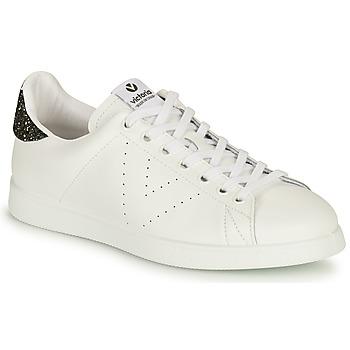 Scarpe Donna Sneakers basse Victoria TENIS PIEL Bianco / Argento