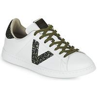 Scarpe Donna Sneakers basse Victoria TENIS PIEL Bianco / Kaki
