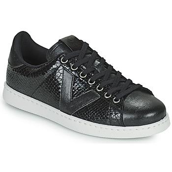 Scarpe Donna Sneakers basse Victoria TENIS SERPIENTE Nero