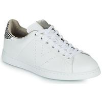 Scarpe Donna Sneakers basse Victoria TENIS VEGANA/ GALES Bianco / Grigio