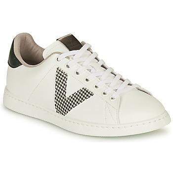 Scarpe Donna Sneakers basse Victoria TENIS VEGANA GAL Bianco / Grigio
