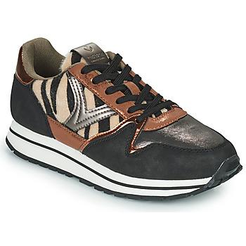 Scarpe Donna Sneakers basse Victoria COMETA MULTI Nero / Marrone