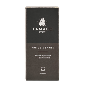 Accessori Prodotti di trattamento Famaco FLACON HUILE VERNIS 100 ML FAMACO NOIR Nero
