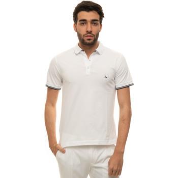 Abbigliamento Uomo Polo maniche corte Fay NPMB242134S-TDWB001 Bianco