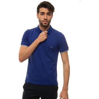 Abbigliamento Uomo Polo maniche corte Fay NPMB242134S-TDWU215 Bluette