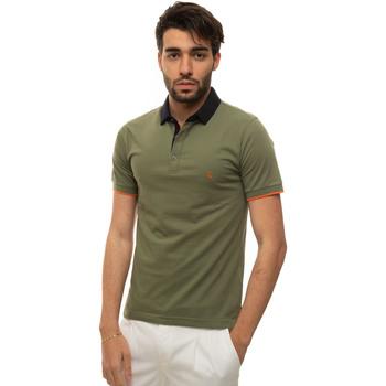 Abbigliamento Uomo Polo maniche corte Fay NPMB242137S-TDWV607 Verde