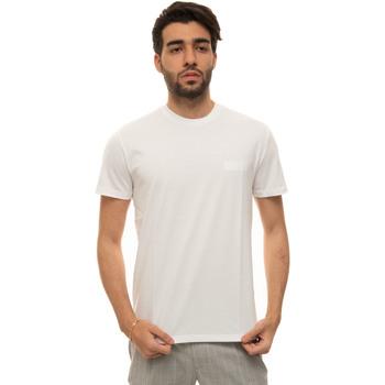 Abbigliamento Uomo T-shirt maniche corte Fay NPMB3421300-SHOB001 Bianco