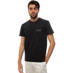 Abbigliamento Uomo T-shirt maniche corte Fay NPMB3421300-SHOU807 Blu
