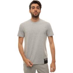 Abbigliamento Uomo T-shirt maniche corte Fay NPMB3421310-SHOB208 Grigio