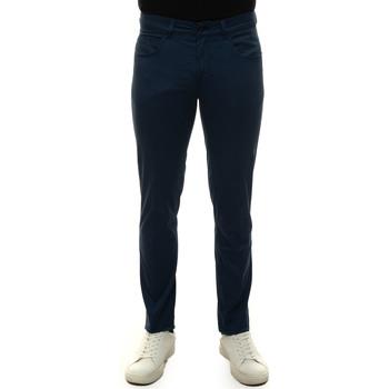 Abbigliamento Uomo Pantaloni 5 tasche Fay NTM8242180T-GURU218 Blu medio