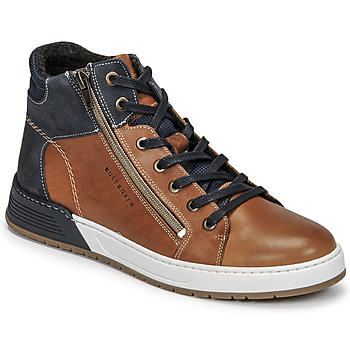 Scarpe Bambino Sneakers basse Bullboxer AOF506COGN Marrone / Marine