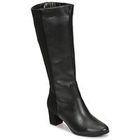 Scarpe Donna Stivali Spot on F50366-BLACK Nero