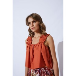 Abbigliamento Donna Top / Blusa Hanny Deep F021XBAT5516 MELONE-UNICA - To  Altri