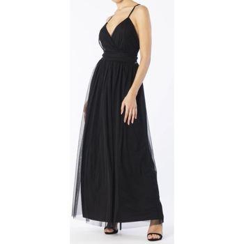 Abbigliamento Donna Abiti lunghi Hanny Deep F196XBAHD023 NERO-UNICA - Abit  Nero