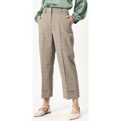 Abbigliamento Donna Chino Sandro Ferrone S25XBAANNI Verde-UNICA - Panta  Verde