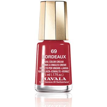 Bellezza Donna Smalti Mavala Nail Color 69-bordeaux  5 ml