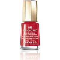 Bellezza Donna Smalti Mavala Nail Color 156-rococo Red  5 ml