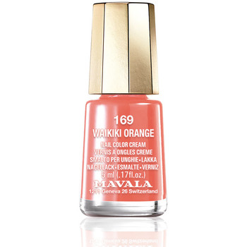 Bellezza Donna Smalti Mavala Nail Color 169-waikiki Orange  5 ml