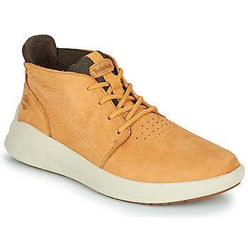 Scarpe Uomo Sneakers alte Timberland BRADSTREET ULTRA PT CHK Beige