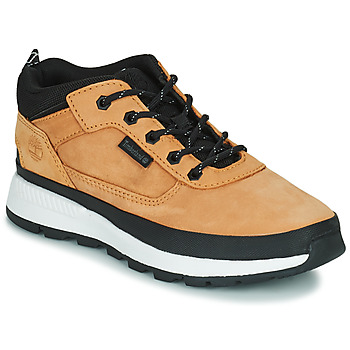 Scarpe Unisex bambino Sneakers alte Timberland FIELD TREKKER LOW Grano