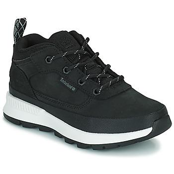 Scarpe Unisex bambino Sneakers alte Timberland FIELD TREKKER LOW Nero