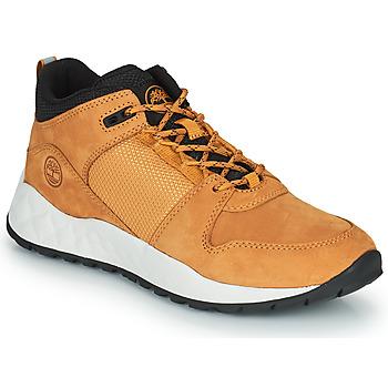 Scarpe Unisex bambino Sneakers basse Timberland SOLAR WAVE LOW Grano