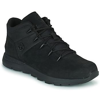 Scarpe Unisex bambino Sneakers alte Timberland SPRINT TREKKER MID Nero