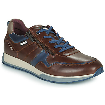 Scarpe Uomo Sneakers basse Pikolinos CAMBIL Marrone / Blu