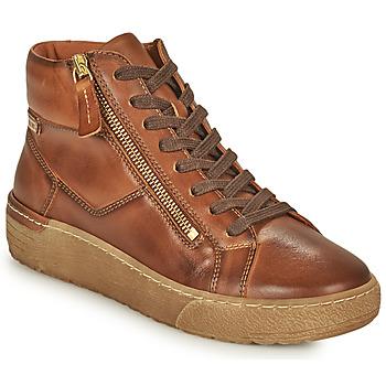 Scarpe Donna Sneakers alte Pikolinos VITORIA Marrone