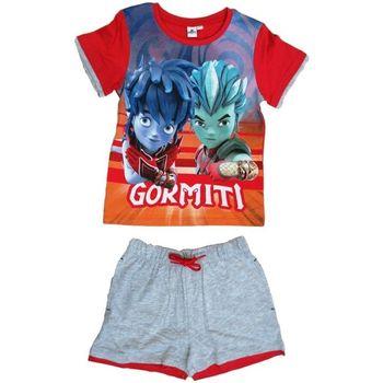 Abbigliamento Bambino Completo Dessins Animés Maglietta Multicolore